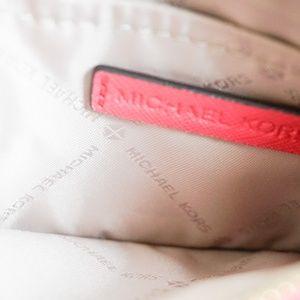 Michael Kors Bags - Michael Kors Jet Set SM Coin Pouch Key Holder Pink
